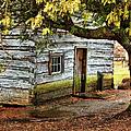 Blue Ridge Parkway - Mabry Mill Building In The Rain by Dan Carmichael