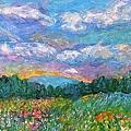 Blue Ridge Wildflowers by Kendall Kessler