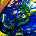 Blue Swirls by David Patterson