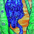 Blue Wolf by Derrick Higgins