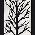 Bluebird In A Pear Tree by Barbara St Jean