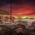 Boat - End Of The Season  by Mike Savad