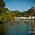 Boat House Central Park New York by Amy Cicconi