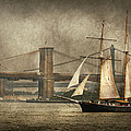 Boat - Sailing - Govenors Island Ny - Clipper City by Mike Savad