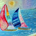 Boats at Sunset 2