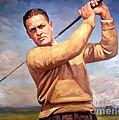 bobby Jones Print by Tim Gilliland