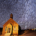 Bodie Star Trails by Cat Connor