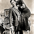 Bonnie And Clyde - Texas by Daniel Hagerman