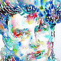 Bono Watercolor Portrait.1 by Fabrizio Cassetta