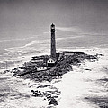 Boon Island Light Tower Circa 1950 by Aged Pixel
