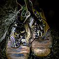 Boots That Grunt  by Steven  Digman