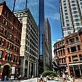 Boston 007 Print by Lance Vaughn