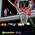Boston Celtics' Basket by Mike Martin