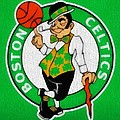 Boston Celtics Canvas by Dan Sproul