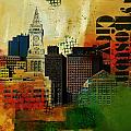 Boston City Collage 2 by Corporate Art Task Force