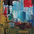 Boston City Collage 3 by Corporate Art Task Force