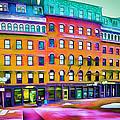 Boston Colors 1 Print by Yury Malkov