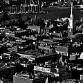 Boston Old North Church Black And White Print by Benjamin Yeager