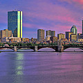 Boston Pastel Sunset by Joann Vitali