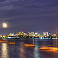 Boston Skyline From Memorial Drive by Joann Vitali