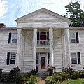 Bottom-McAfee-Guthrie House - Perryville KY Print by Thia Stover