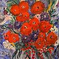 Bouquet Splash by Louise Burkhardt