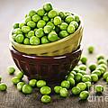 Bowl Of Peas by Elena Elisseeva
