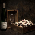 Box of Wine Corks St...