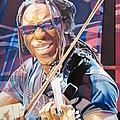 Boyd Tinsley And 2007 Lights by Joshua Morton