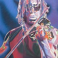 Boyd Tinsley Colorful Full Band Series by Joshua Morton