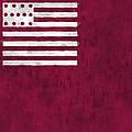 Brandywine Flag Print by World Art Prints And Designs