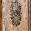 Brass Medallion by Michael Flood