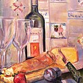 Bread And Wine by Dorothy Siclare