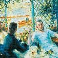 Breakfast By The River by Pierre-Auguste Renoir