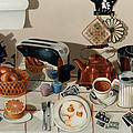 Breakfast With The Beatles - Skewed Perspective Series by Larry Preston