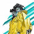 Breaking Bad Print by Jeremy Scott