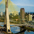Bridge In Sao Paulo by Daniel Precht