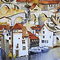 Bridge To Lock by Shirley  Peters