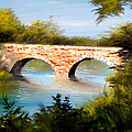 Bridge Under El Dorado Lake by Robert Carver