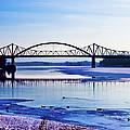Bridges Over The Mississippi by Christi Kraft