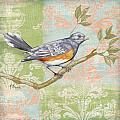 Brocade Songbird Iv by Paul Brent
