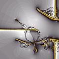 Broken Jewelry-fractal Art by Lourry Legarde