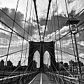 Brooklyn Bridge by Delphimages Photo Creations