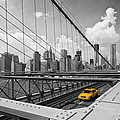 Brooklyn Bridge View Nyc by Melanie Viola