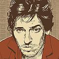 Bruce Springsteen Pop Art by Jim Zahniser