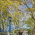 Bryant Park Afternoon by Richard Trahan