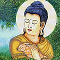 Buddha Green by Loganathan E
