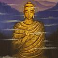 Buddha. Passing Clouds by Vrindavan Das