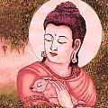 Buddha Red  by Loganathan E
