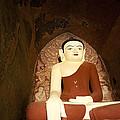 Buddha Statue In Dhammayangyi Paya Temple by Ruben Vicente